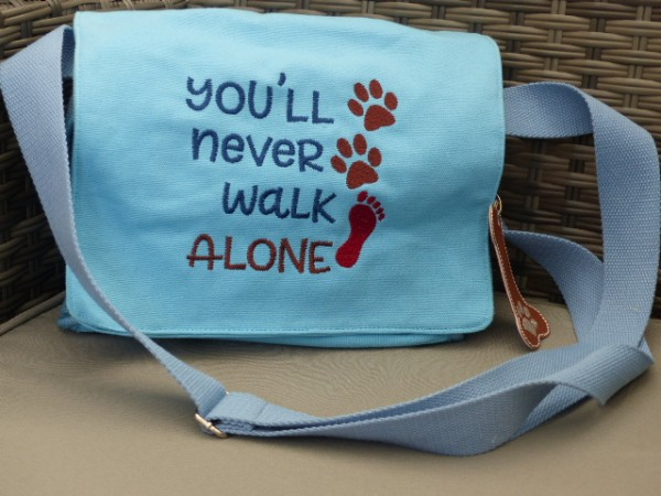 Schultertasche You´ll never walk alone