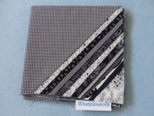 Westfalenstoff Stoffpaket Black and White